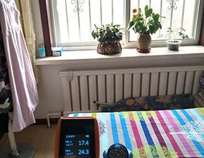 室内长寿村生态仪净化PM2.5空气图片