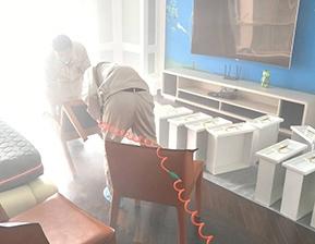 主卧室拆解抽屉治理施工图片