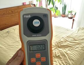 主卧室甲醛检测超标